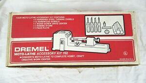 DREMEL Moto-Lathe Accessory Kit 702 - Made in the U.S.A.
