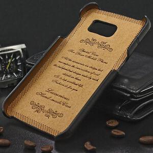 Samsung Galaxy S6 i9600 Leder-Imitat 2 Karten Fächer Handytasche G920