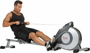 Sunny Health & Fitness Magnetic Rowing Machine Rower FREE SHIPPING TO PR