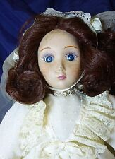 """Charlotte Of the Ol' South"" Doll"" Danbury Mint Brides of America w/ Certificate"