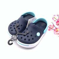 Crocs Crocband II Kids Slip On Clogs Navy Blue Boys&Girls Crocs Kids New