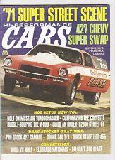 Hi-po cars nov 1970 baldwin motion vette-T/A 340-new 71s hi po cars-drags-Vdub