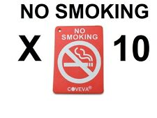 10 X NO SMOKING HANGING CAR VALET AIR FRESHENER SCENTED 5 DIFFERENT FRAGRANCES