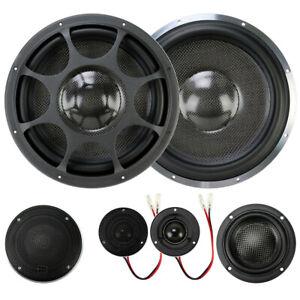 Morel  Elate Ti 603 Tweeters Aluminum  pods black for Morel  Midrange