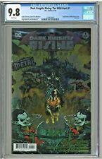 Dark Knights Rising The Wild Hunt #1 CGC 9.8 1st First Print Foil Edition Metal