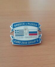 GREECE VS RUSSIA EURO 2008 PIN BADGE