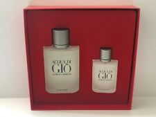 Giorgio Armani ACQUA Di Gio Men's 3.4oz EDT Spray+1.0oz EDT Spray New In Box