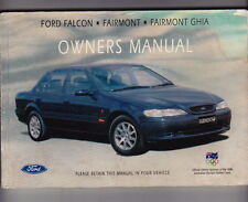 1994 FORD EF FALCON FAIRMONT & GHIA Owners Handbook - Reasonable Condition