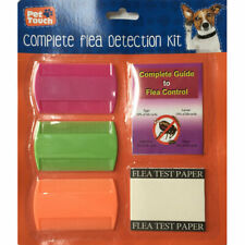 COMPLETE FLEAS DETECTION KIT FOR DOGS CATS PUPPIES & KITTENS FLEA COMBS & GUIDE