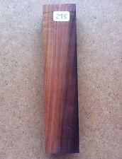Rare Desert Ironwood 143x32x18mm Blank Knife Boxmakers Wood Crafts