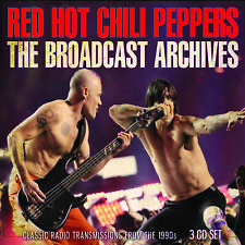 RED HOT CHILI PEPPERS New Sealed 2019 LIVE 1990s CONCERTS 3 CD BOXSET