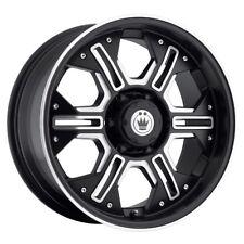 18x8 5 Konig Locknload 5x139 7 12 Matte Black Wheels Set Of