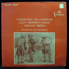 Reiner - Tchaikovsky 1812 Liszt LP Mint- VICS-1025 Vinyl 1963 Record Pink Promo