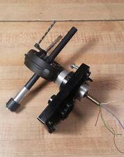 Thorens TD 166 MkII Turntable Tone Arm w/Base & Faceplate