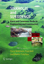 NEW Sinkholes and Subsidence by Tony Waltham