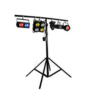 Professional Stage Lighting 2m 4-Tripod Stand Performance Lighthouse Lamp Holder