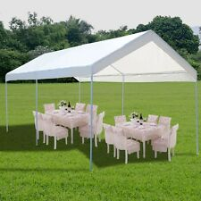 Portable Car Carport Garage Cover Steel Frame Canopy Shelter  Party Tent 10 x 20