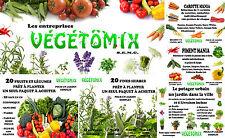 Graine fruit légume fine herbe aromatique seed vegetal semence sans ogm #1 lot