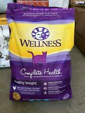 Wellness Complete Health Natural Healthy Weight CAT Food 12 lb Bag