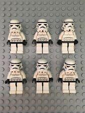 LEGO Star Wars 6x Minifigure Lot (Yellow Head) sw036 10123, 7139, 7201, 7146