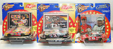 VINTAGE 2000 DALE EARNHARDT #3  & #8 WINNERS CIRCLE SAM BASS COLLECTION SET OF 3