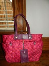 MARC BY MARC JACOBS Preppy Nylon Leopard-Print Large Pink Tote!