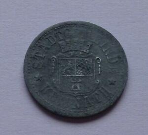 Notgeld: Germany, Kemnath 10 Pfennig 1921, War money, Emergency coin
