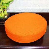 PL23r Fluorescence Pink Water Proof Outdoor Box Round Shape Cushion Cover Case