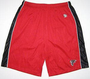 NFL Team Apparel Atlanta Falcons Team Slogan Colorblocked III Shorts