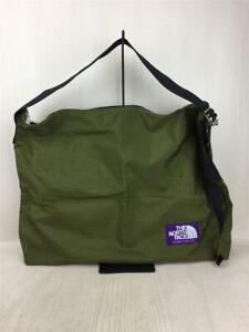 THE NORTH FACE PURPLE LABEL Shoulder Bag Khaki Nylon NN7754N Used From Japan