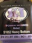 SIT Power Wound Nickel Electric Guitar Strings 10-52 S1052 Heavy Bottom for sale