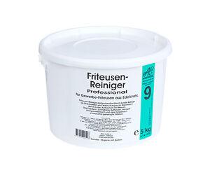 Friteusen-Reiniger Granulat Fritteusenreiniger Pulver 5kg Eimer Vorratspack