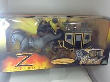 Zorro Runaway Armoured Coach Playset  With Action Figure NEW GPF3225