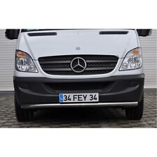 MERCEDES SPRINTER SPOILER BAR NUDGE BAR STAINLESS STEEL BULL BAR 2006 2013