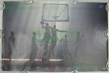 NITF! Vintage ☆  Original ☆ Nike Basketball Poster SHIRTS & SKINS Michael Jordan