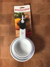 Kitchen Aid Measuring Cups Set -White - NEW