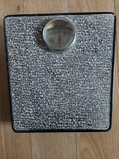 Vintage Vantage Mechanical Imperial Bathroom Scales Metail Base