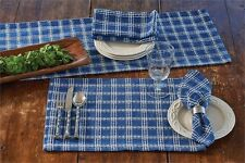 "Table Runner 36"" L - B Davies in Blue by Park Designs - Kitchen Dining Patriotic"