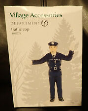 Department 56 Village Accessories Traffic Cop #4057575