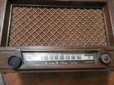 "Vintage 1940's Philco Tube Radio, Untested, Measures 16.5 x 10.5 x 7.5"", 59-95"