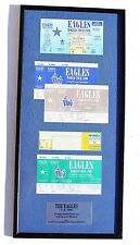 Rare Vtg 1996 The Eagles U.K. Congratulations On 5 Sold Out Shows Framed Tickets
