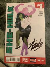 She-Hulk 1 First Issue Signed By Stan Lee Marvel First Appearance