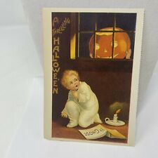 Postcard Thrilling Halloween 1988 Reproduction