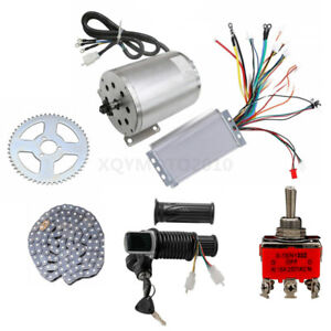 48V 1800W Brushless Motor Controller Chain Sprocket for Electric Scooter go Cart