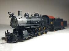 Vintage HO Scale Roundhouse MDC 280 Consolidation C B & Q steam engine & tender