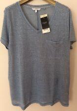 New Next Ladies Size 12 Linen T Shirt