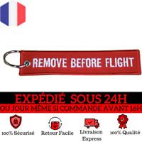 Porte-clefs Remove Before Flight AIGLE AZUR
