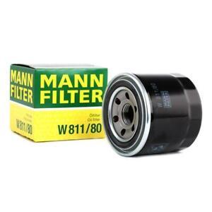 Mann-filter Oil Filter W811/80 fits KIA CERES  2.2 D 4WD 2.4 D 2.4 D 4WD