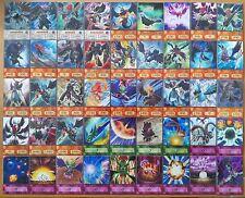 YuGiOh Orica/Anime Style Schwarz geflügelter Drache/Crow Deck/Set 45 Karten