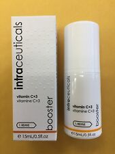 Intraceuticals Vitamin C+3 Booster, 0.5oz, New, Retail $55, Free Shipping